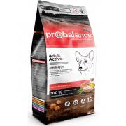 Pro Balance Active Adult полнорационный сухой корм рекомендован для ежедневного кормления взрослых собак всех пород, (целый мешок 15 кг)