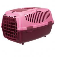 Trixie переноска 37×34×55 см для животных весом до 8 кг, бордовая