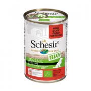 Schesir Organic Bio Adult с говядиной для взрослых собак, 400 г