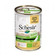 Schesir Organic Bio Adult с курицей для взрослых собак, 400 г