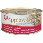 Applaws Tuna Chicken With Duck куриная грудка с уткой, 70 г