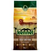 Kennel полноценный сухой корм для взрослых собак всех пород с курицей (целый мешок 15 кг)