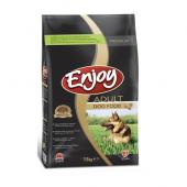Enjoy Adult Dog сухой корм для взрослых собак всех пород со вкусом курицы (целый мешок 15 кг)