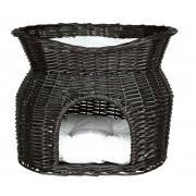 Trixie лежак-домик плетеный двухэтажный 54×43×37 см
