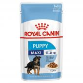 Royal Canin Maxi Puppy влажный корм для взрослых собак крупных пород, в соусе 140 г