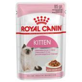 Royal Canin Kitten влажный корм для котят с 4 до 12 месяцев в соусе, 85 г