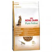 Royal Canin Pure Feline No.2 Slimness полнорационный корм для кошек с добавлением семян подорожника и яблочной мякоти, 300 г