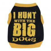 Летняя одежда Big Dogs Yellow для собак мелких пород, размер M