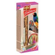 Smakers (колосок) со злаками для зебровой амадины и экзотических птиц 2 шт.