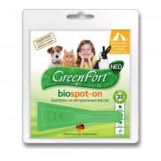 GreenFort Neo био капли для кошек кроликов и собак от 1 до 10 кг