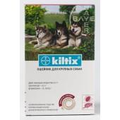 Kiltix ошейник против клещей и блох для больших собак