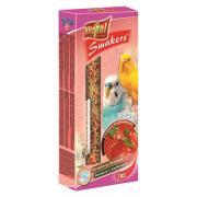 Vitapol Smakers с клубникой для волнистых попугаев, 2 шт., 90 г