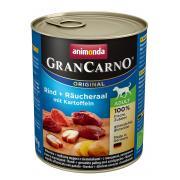 Gran Carno Adult с копченым угрем и картошкой, 800 г