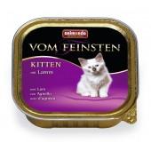 Vom Feinsten консервы с ягненком для котят