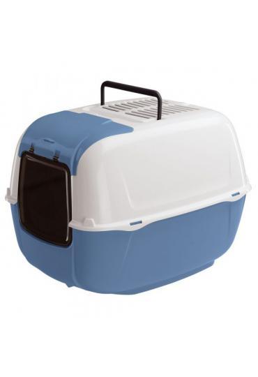 Ferplast Prima Cabrio закрытый туалет для кошек с открывающимся люком, 52,5 x 39,5 x 38 см