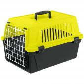 Ferplast Atlas 20 Neon переноска для кошек и маленьких собак, 32,5 x 48 x 29 см