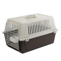 Ferplast Atlas 30 переноска для кошек и маленьких собак с кормушкой и подушкой, 40 x 60 x 38 см