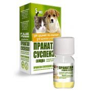 Пранатан суспензия противо-гельминтный препарат для щенков и котят 5 мл