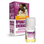 Пранатан суспензия противо-гельминтный препарат для взрослых кошек 7 мл