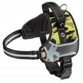 Ferplast Hercules Cammie нейлоновая камуфляжная шлейка для собак, 54-65 см х 64х81 см х 40 мм, размер L
