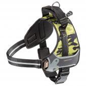 Ferplast Hercules Cammie нейлоновая камуфляжная шлейка для собак, 43-56 см х 59-70 см х 25 мм,размер М
