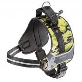 Ferplast Hercules Cammie нейлоновая камуфляжная шлейка для собак, 65-75 см х 90-110 см х 40 мм,размер XXL