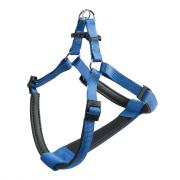 Ferplast DAYTONA Small нейлоновая шлейка для собак синяя