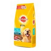 Pedigree для взрослых собак всех пород с говядиной (целый мешок 13 кг)
