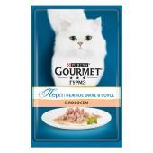 Gourmet Перл нежное филе с лососем в соусе