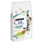 Cat Chow корм для стерилизованных кошек и кастрированных котов (целый мешок 15 кг)