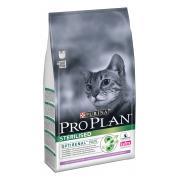 Pro Plan cухой корм для стерилизованных кошек и кастрированных котов с индейкой (целый мешок 10 кг)