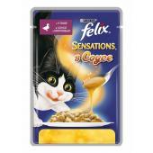 Felix Sensation с уткой в соусе с морковью 85 гр