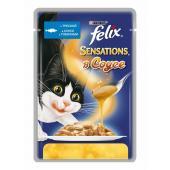 Felix Sensation с треской в соусе с томатами 85 гр
