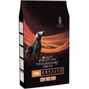Pro Plan Veterinary Diets OM Obesity Management сухой корм для взрослых собак всех пород с ожирением (целый мешок 3 кг)