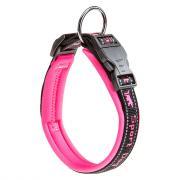 Ferplast Sport Dog C25/65 светоотражающий ошейник на подкладке для собак, 25 х 65 см, розовый