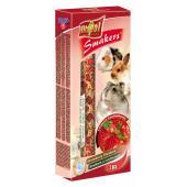Smakers (колосок) с клубникой для грызунов и кролика 2 шт.