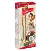 Smakers (колосок) с кокосом для грызунов и кролика 2 шт.