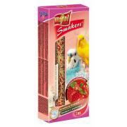 Smakers (колосок) с клубникой для волнистых попугаев 2 шт.