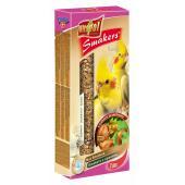 Smakers (колосок) с орехами для нимф (корелла) 2 шт.