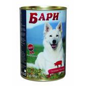 Бари консервы для собак с мясным фаршем и полезными витаминами