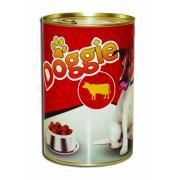 Doggie мясные кусочки телятины для собак на 71% из натурального мяса , 1.100 кг