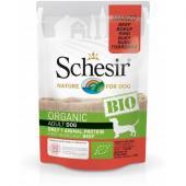 Schesir Organic Bio Adult с говядиной для взрослых собак, 85 г