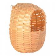 Trixie гнездо бамбуковое 9×10 см