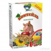 """Полноценный витаминизированный корм """"КОКТЕЙЛЬ ХОМЯЧОК"""" для хомячков и других мелких грызунов"""