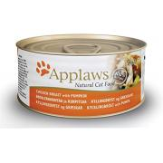 Applaws Chicken Breast with Pumkin курица с тыквой, 70 г