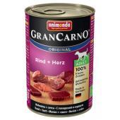 Gran Carno Adult с говядиной и сердцем 400 г