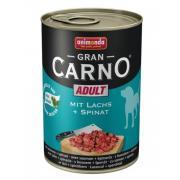 Gran Carno Adult с лососем и шпинатом