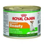 Royal Canin Adult Beauty консервы для взрослых собак с 10 месяцев до 8 лет, для поддержания здоровья кожи и шерсти, 195 г
