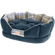 Ferplast Софа CHARLES 60 синяя, с двухсторонней подушкой