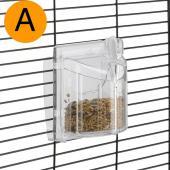 Ferplast Brava 1 поворотная кормушка для маленьких птиц, 8,5 x 9,5 x 6,8 см